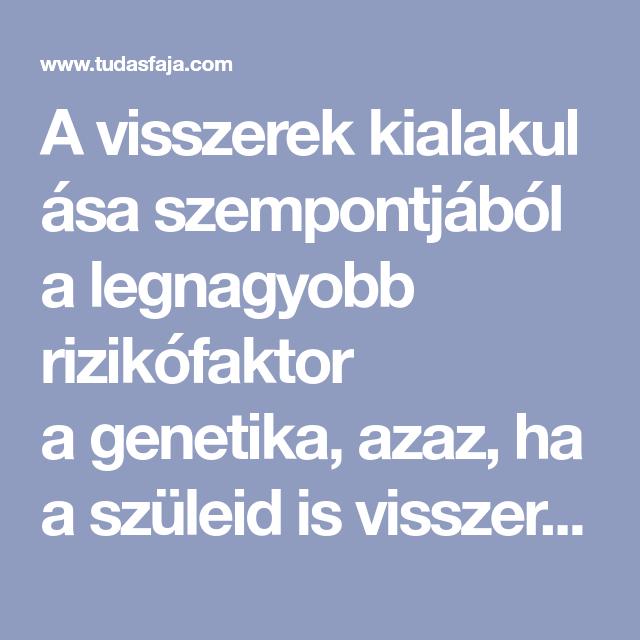 visszér genetika)
