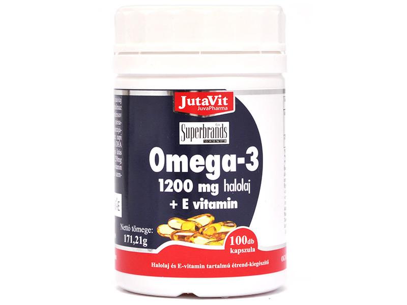 JutaVit Omega 3 Halolaj mg kapszula - Gyógyszerfutár