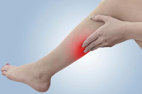 a láb folyamatosan fáj a visszérrel