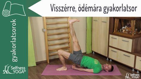 a jógával gyógyított visszér)