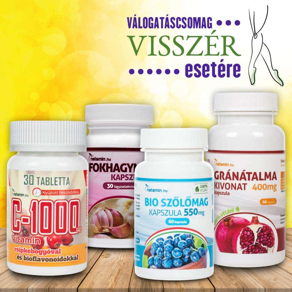 visszér vitamin komplex