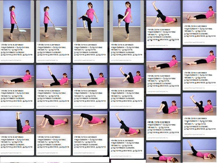 gyakorlatok visszér az edzőteremben