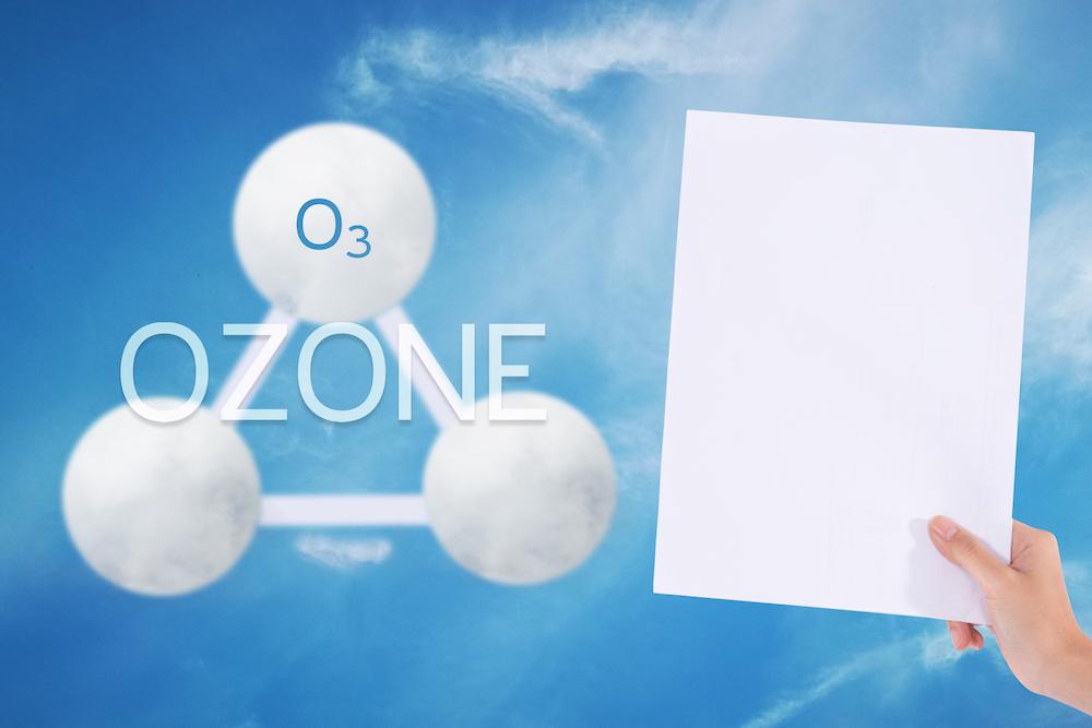 a visszértágulatból származó ózon