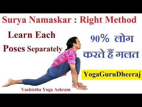 Surya Namaskar avagy a Nap köszöntése 2. rész