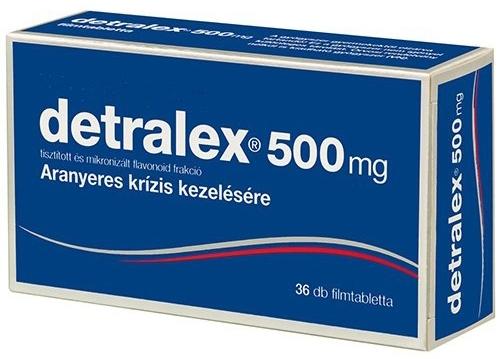 visszér kezelésére szolgáló gyógyszerek listája